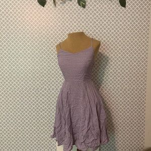 Old Navy Purple mini dress